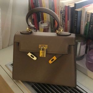 Hermes Dupe Faux Kelly Bag